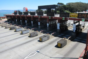 Toll Plaza Striping Plans - GG Bridge