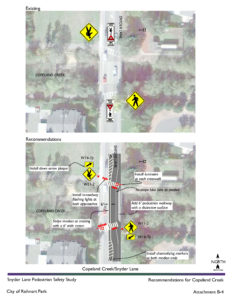 Synder Lane Pedestrian Safety Study - Rohnert Park