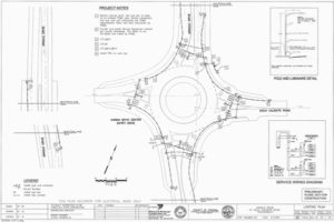 Arnold Drive-Agua Caliente Roundabout Design